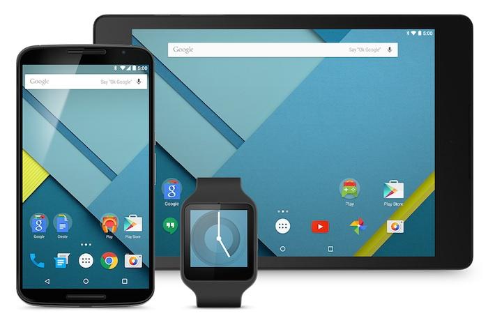 Google publie le SDK de Android 5.0, et les images pour le Nexus 5 et la Nexus 7