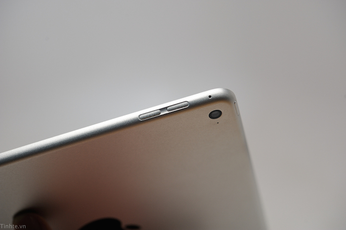 iPad Air 2 : disparition du bouton mute