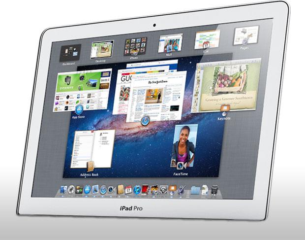 iPad Pro de 12,9 pouces : sur iOS et OS X