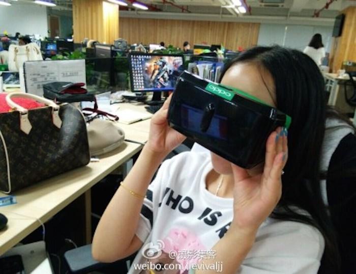 Oppo aurait également un casque de réalité virtuelle dans ses cartons