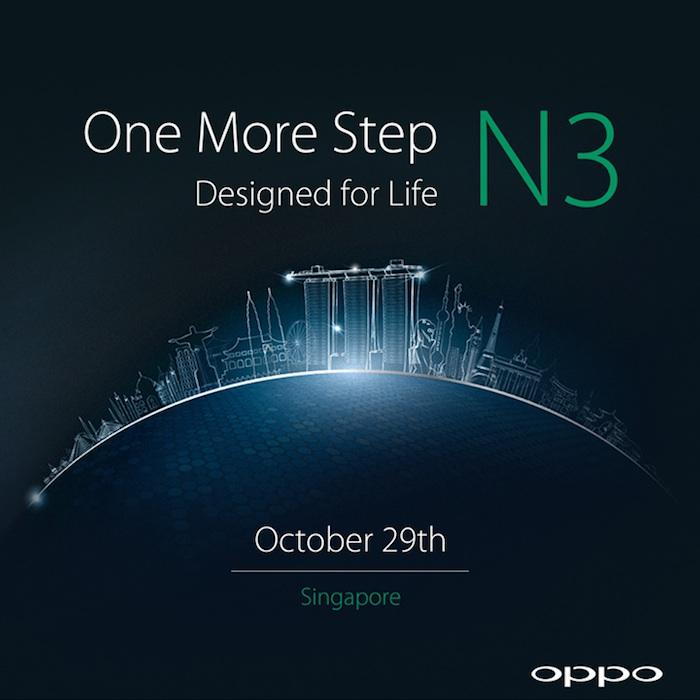 Oppo N3 : il serait lancé le 29 octobre