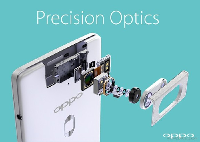 Oppo N3 : la vue éclatée de la caméra révèle plus de détails