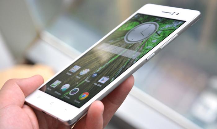 Oppo R5 : un smartphone avec une épaisseur de seulement 4.8 mm