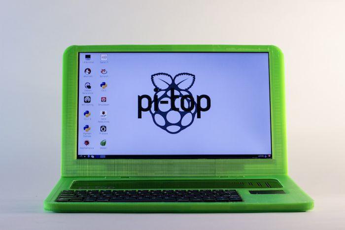 Pi-Top : l'ordinateur portable Raspberry Pi en 3D sur Indiegogo
