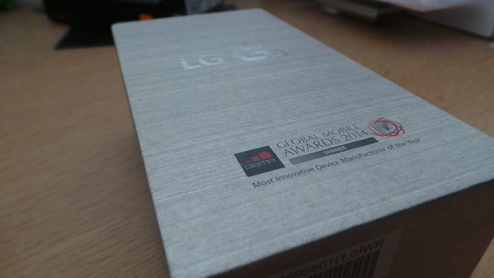 LG G3 : boîte