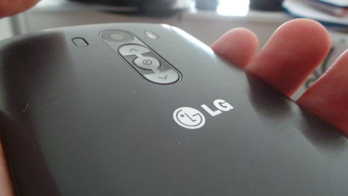 LG G3 : coque arrière