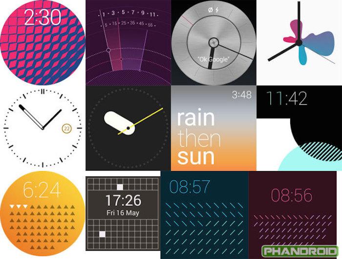 Lollipop apportera avec elle davantage de watchfaces sur Android Wear