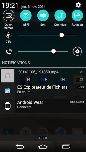 ES Chromecast plugin : vous pourrez piloter la lecture depuis la barre de notifications