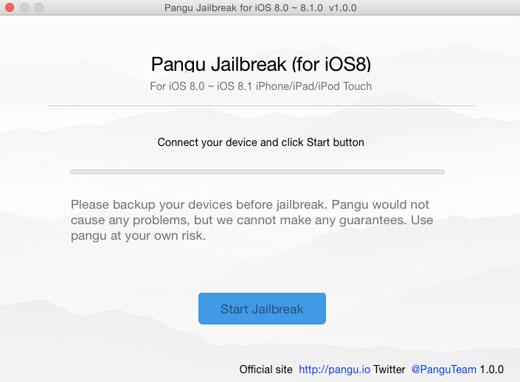 Pangu sur OS X