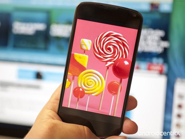 Google Android 5.0 Lollipop est maintenant disponible sur le Nexus 4