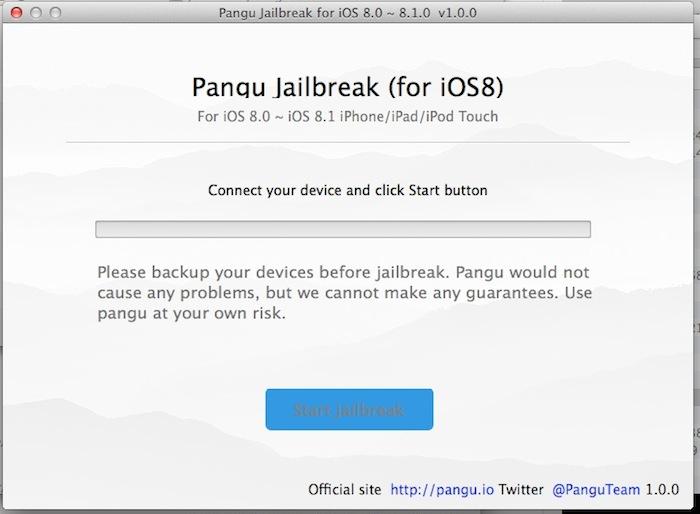 Le jailbreak Pangu de iOS 8 est disponible pour Mac OS X