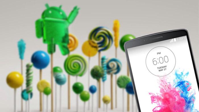 LG G3 : Android 5.0 va être déployé cette semaine
