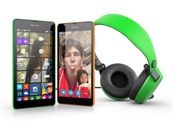 Microsoft Lumia 535 : des modèles colorés