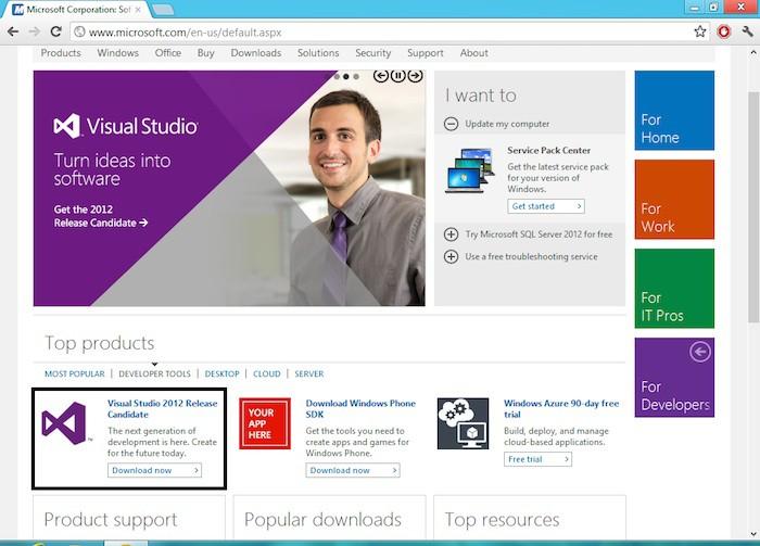 Microsoft offre une solution libre de Visual Studio
