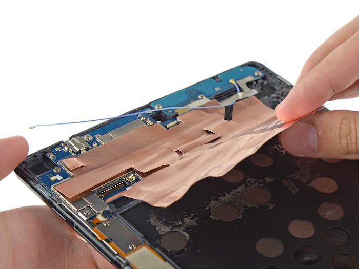 Nexus 9 : démontage