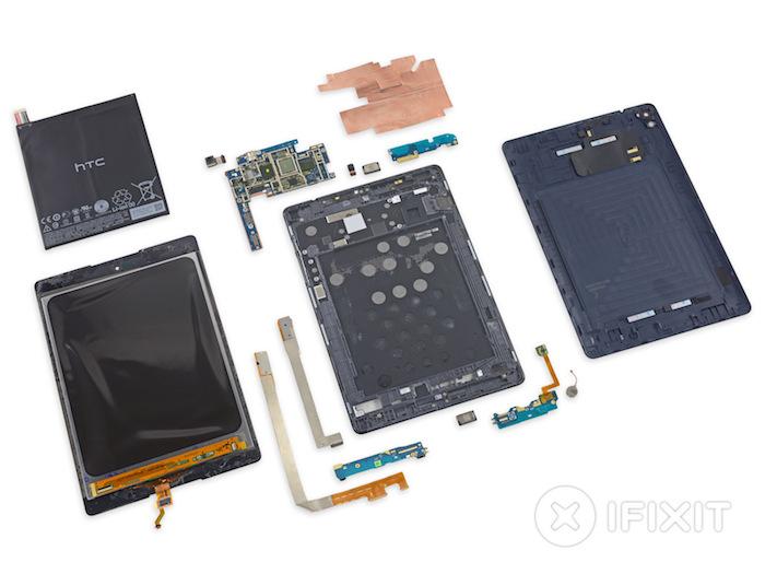 Nexus 9 : démontage complet par iFixit
