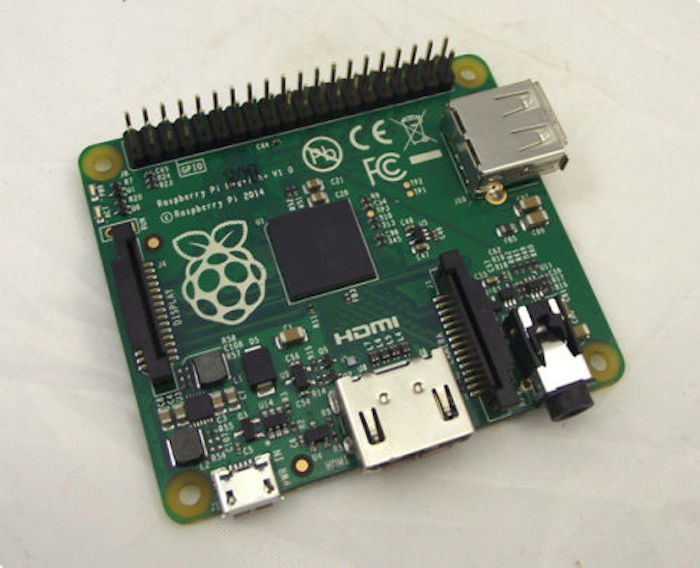 Raspberry Pi Model A+ : un design plus compact, et un connecteur à 40 broches
