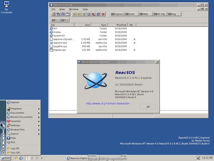 ReactOS : un vrai clone de Windows 2000