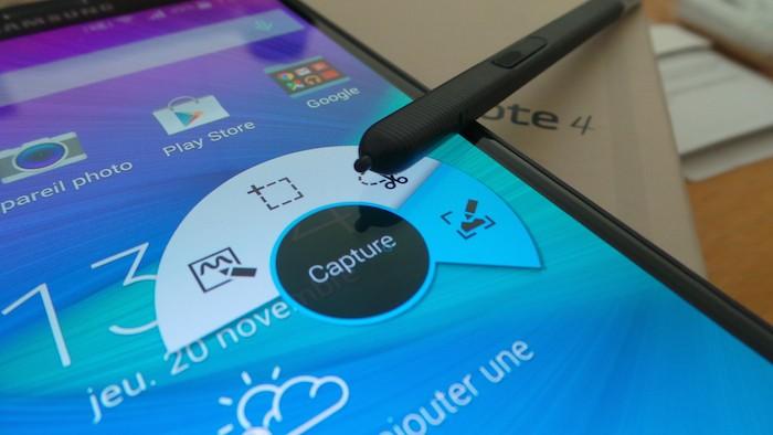 Samsung Galaxy Note 4 : S Pen