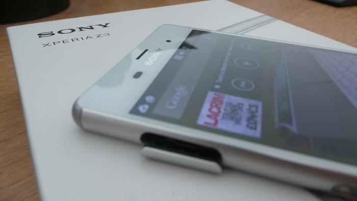 Sony Xperia Z3 : grosses caractéristiques