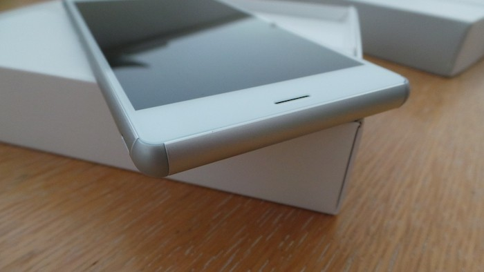 Sony Xperia Z3 : bords beaucoup plus arrondis