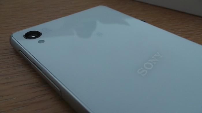 Sony Xperia Z3 : face arrière