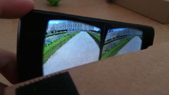 Photo Sphere depuis le Cardboard