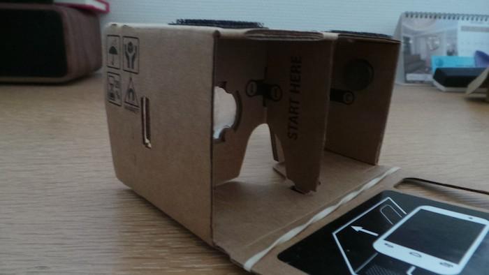 Google Cardboard : vue de droite