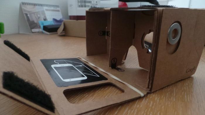 Google Cardboard : commutateur magnétique