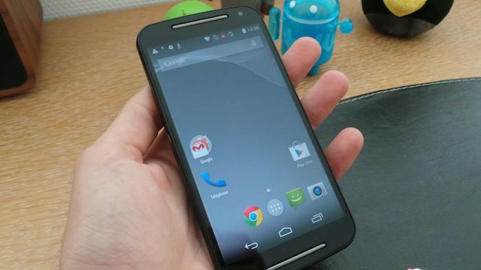 Moto G (2014) : écran