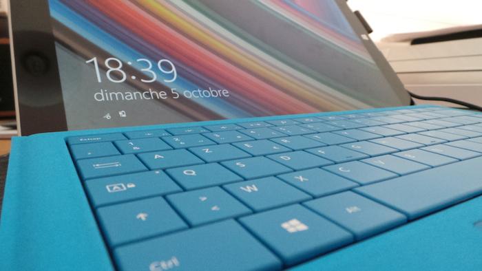 Surface Pro 3 : avec le Type Cover