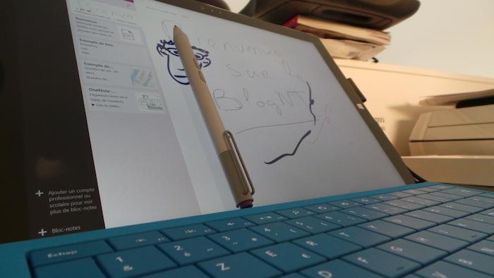 Surface Pro 3 : stylet intégrée dans le packaging