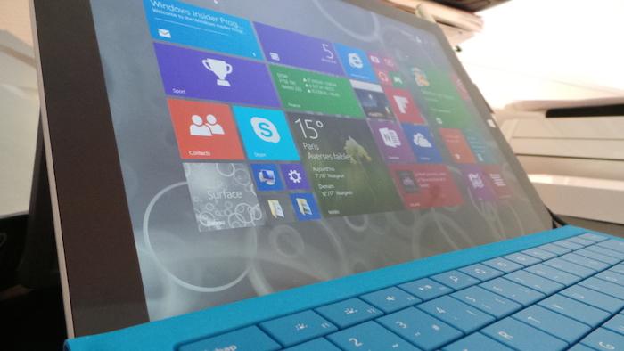 Surface Pro 3 : écran