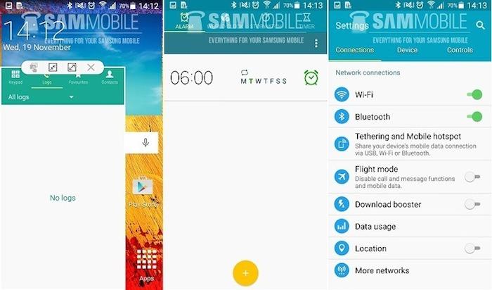 Mode multi-fenêtre arrive sur le Galaxy Note 3