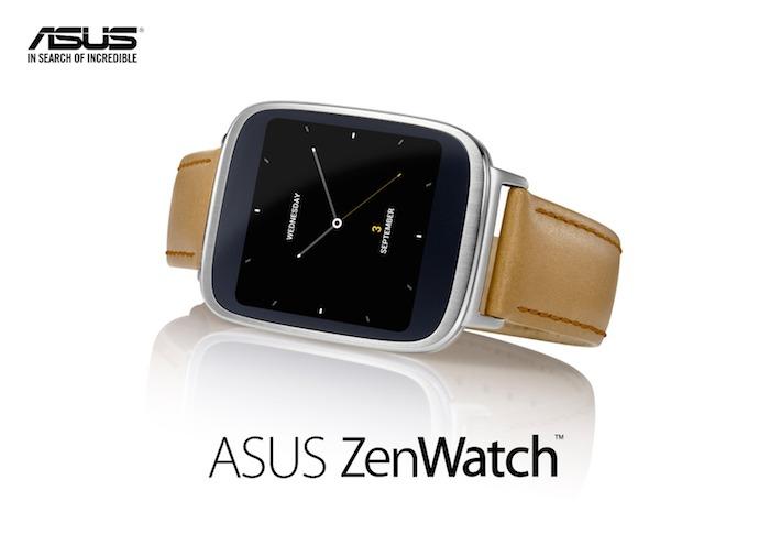 ASUS ZenWatch 2 : prête pour le troisième trimestre 2015