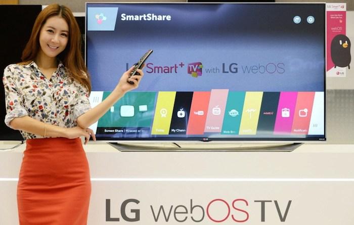CES'15 : LG lancera webOS 2.0 pour ses Smart TV