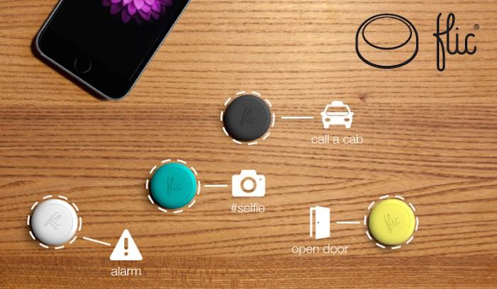 Flic : un bouton intelligent sans fil pour contrôler la musique, passer des appels et plus