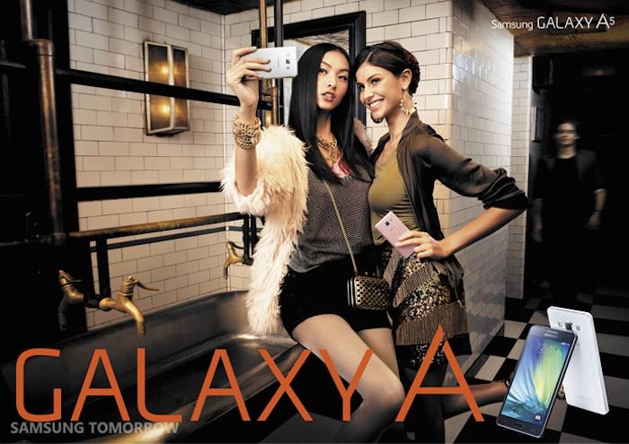 Galaxy A5 : il pourrait évincer la gamme Galaxy Alpha