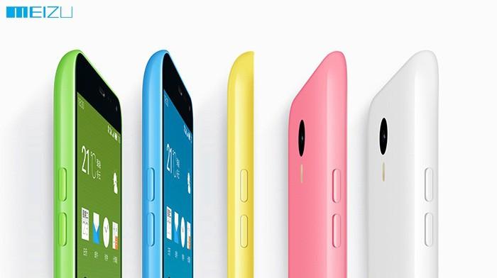 Meizu M1 Note : une vue identique à celle de l'iPhone 5C