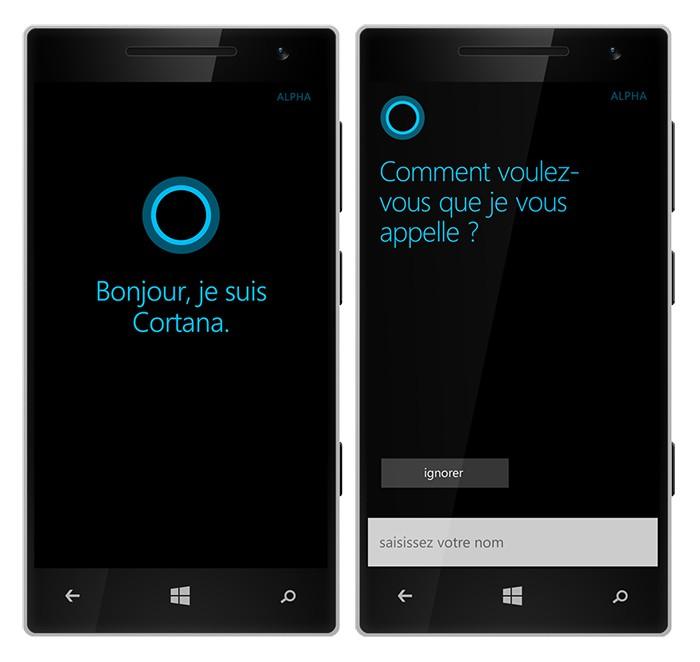 Microsoft Cortana arrive enfin en France !