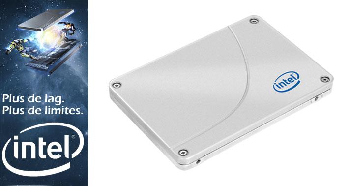 Noël 2014 : un disque dur Intel SSD de 480 Go offert par GrosBill