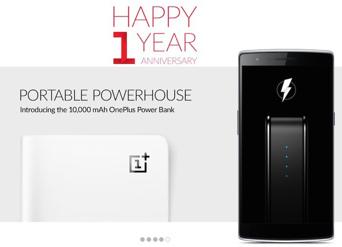 OnePlus Power Bank : une batterie pour célébrer son premier anniversaire