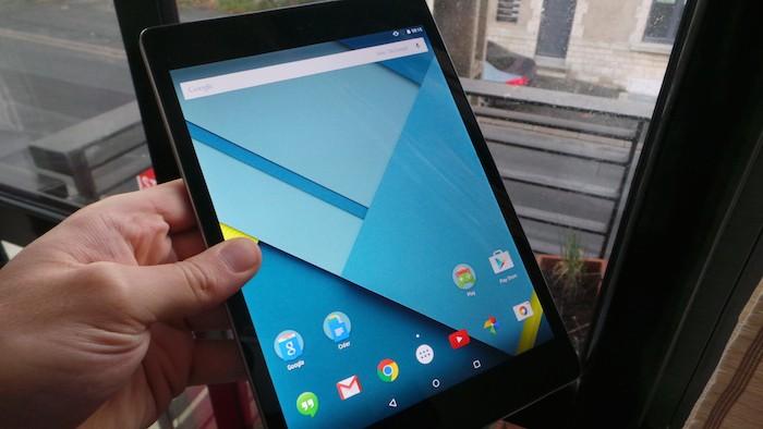 Nexus 9 : écran