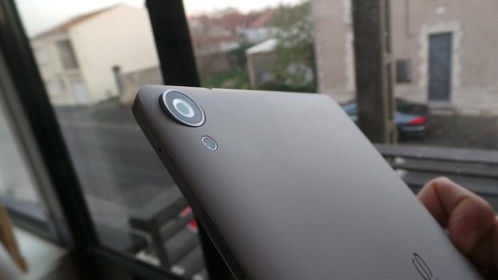 Nexus 9 : appareil photo
