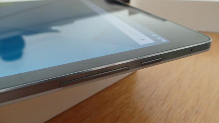 Nexus 9 : vue de droite