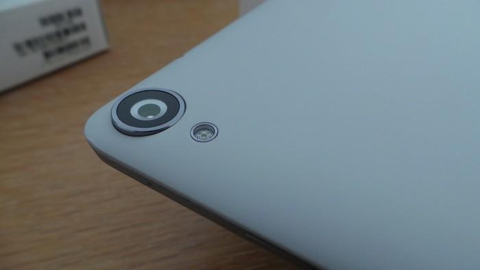 Nexus 9 : caméra