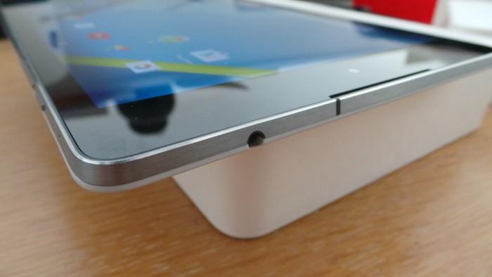 Nexus 9 : vue de dessous