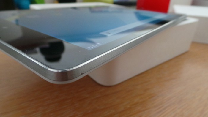 Nexus 9 : finesse de la tablette