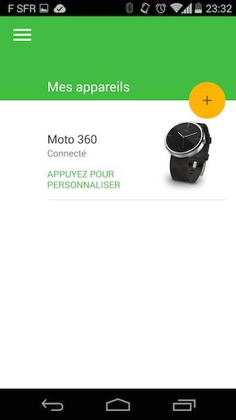 Moto 360 : Moto Connect - 2