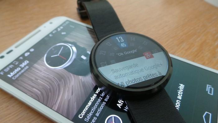 Moto 360 : le chanfrein influe sur l'expérience utilisateur